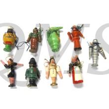 Spende abzeichen holzerne Figuren (Donation item WhW wooden puppets)
