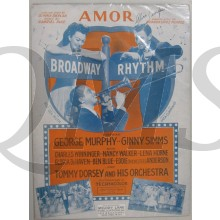 Book music/song/text Broadway Rhythm