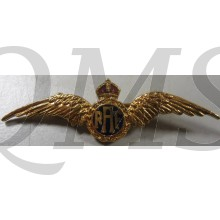 WW2 Royal Air Force Pilot's Wing RAF Gilt & Enamel