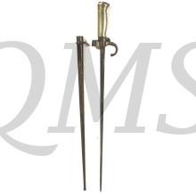 French Model 1886 Epee Lebel Bayonet