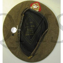 Beret 1945 New Brunswick Rangers Regiment,  10th Infantry Brigade, 4th Canadian Armoured Division