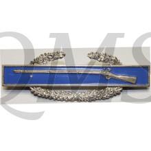 U.S. Army Combat Infantryman Badge (sterling WW2)