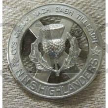 Cap badge North Nova Scotia Highlanders