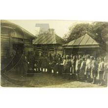Photo Osterreichische Soldaten im Lager WK1