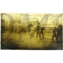 Photo  begrabnis Militair Hubner Ham 4/1918