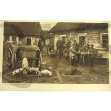 Postkarte WK1 11e reihe . das Soldatenleben im Felde