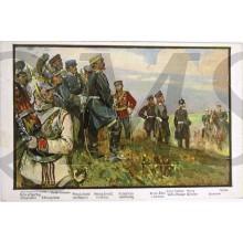 Patriottische briefkaart Moltke melder den Furstlichen