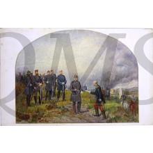 Postkarte 1914, Nach der Slacht bei Sedan 1870