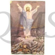 Postkarte 1914 Friede der Menschen auf Erde