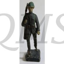 """""""Elastolin"""" Nederlandse soldaat marcherend 1940"""