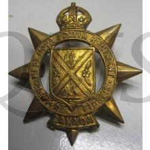 West Nova Scotia Regiment Cap Badge