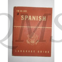 Booklet TM 30-300 Language Guide Spanish 1943
