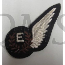 RAF Engineer Half Wing. E Wing