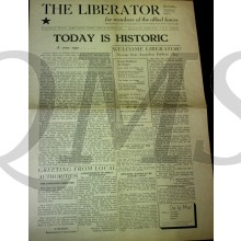 Newspaper the Liberator 6 june 1945 Today is Historic