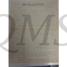 Krant de Waarheid 3 mei 1945