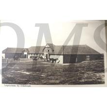 Prent briefkaart 1940 mobilisatie legerplaats bij Oldebroek