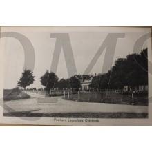 Prent briefkaart 1940 mobilisatie Paviljoen Legerplaats Oldebroek