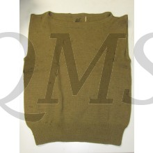 Sweater Enlisted man's Sleeveless Wool US Army