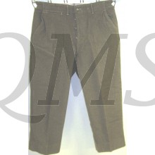 Trousers serge wool