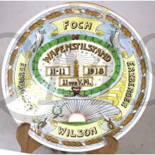 Wandbord WAPENSTILSTAND 11-11-1918