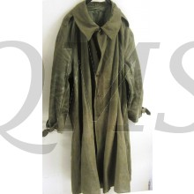 1940 Regulation French Army Cotton Canvas Overcoat