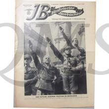 Magazine Berliner Illustrirte 31 august 1933 Das Hitler-Jugend-treffen in Munchen