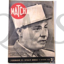 "In the late 1930s, the creation of Match, a successful photo-news magazine, by the media owner Jean Prouvost was an important step in the history of the press. As a vector and component of ""war culture"", Match gave us, from September 1939 to J"