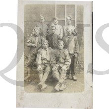Belgian of French group soldiers WW 1