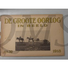 Boek de Groote oorlog in Beeld no 39 1918