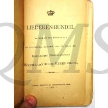 Liederenbundel Koninklijke Nederlandsche Weerbaarheids Vereniging 1909