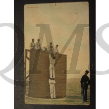 Prent briefkaart 1905 Hindernisbaan (2)