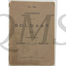 Voorschrift no 72b Handboek soldaat