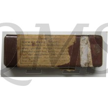 Bakelite 'Hautentgiftungsmittel' box