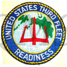 Patch United Sates Third Fleet Readiness
