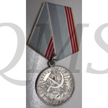 "Russian/Soviet: Medal ""Veteran of Labour"""