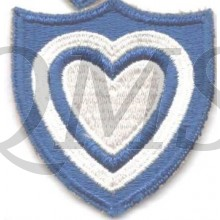 Sleeve patch 24th Corps
