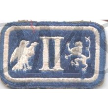 Sleeve patch 2nd Corps