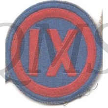 Sleeve patch 9th Corps