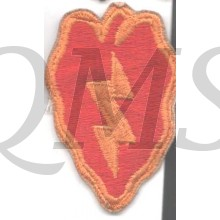Sleeve patch 25th Infantry Division