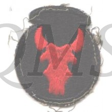 Sleeve patch 34th Infantry Division