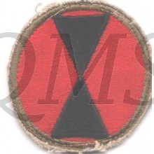 Sleevepatch 7th Infantry Division
