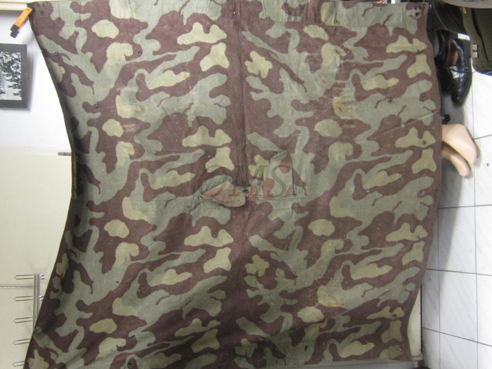 Zeltbahn Italian M1929 (Tenthalf camouflage Italy 1929 pattern)