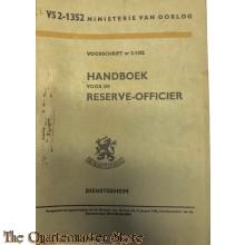 Voorschrift  2-1352 Handboek voor de Reserve-Officier