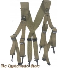 Gevechtssriemen US Army M 1936 Froehlich Co 1942 (Suspenders US Army Combat M 1936)