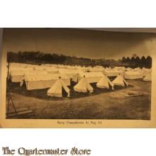 Ansicht mobilisatie 1914 Kamp Chasse terrein 6e Reg Inf