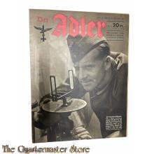 Zeitschrift Der Adler heft 22 , 26  okt 1943 (Magazine Der Adler no 22 , 26 okt 1943)