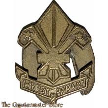 Revers insigne Padvinders Weest Paraat  1935
