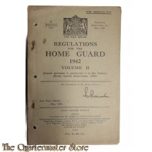 Regulations for the Home Guard 1942 Vol II
