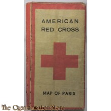 US Red Cross Map of Paris 1944