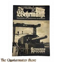 Magazine Die Wehrmacht 4e Jrg no 23,  6 nov 1940
